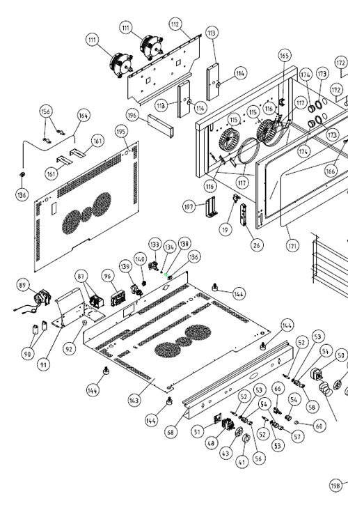 Unox Oven Parts And Servicing