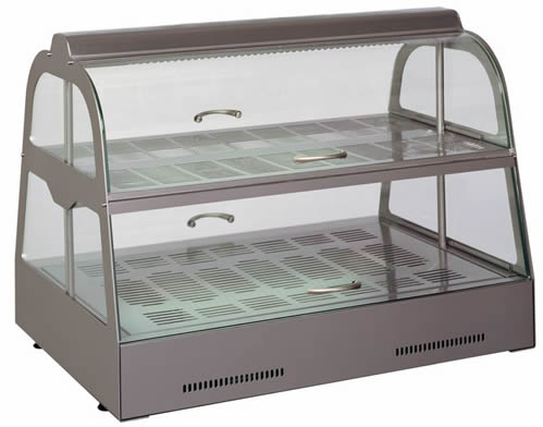 UNIS commercial display food cabinets
